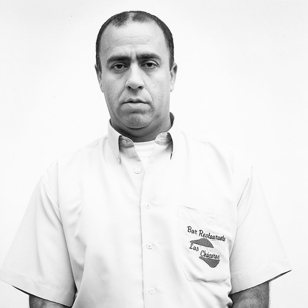 serie of portraits in b&w by Marc Díez