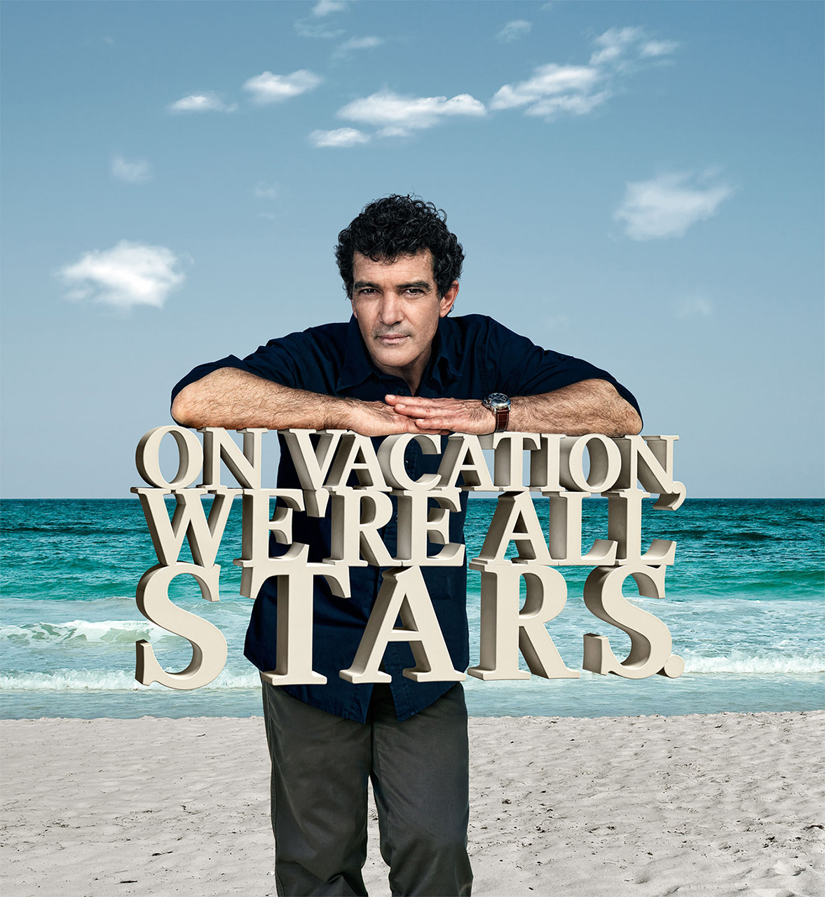 Iberostar ad campaign with celebrity Antonio Banderas