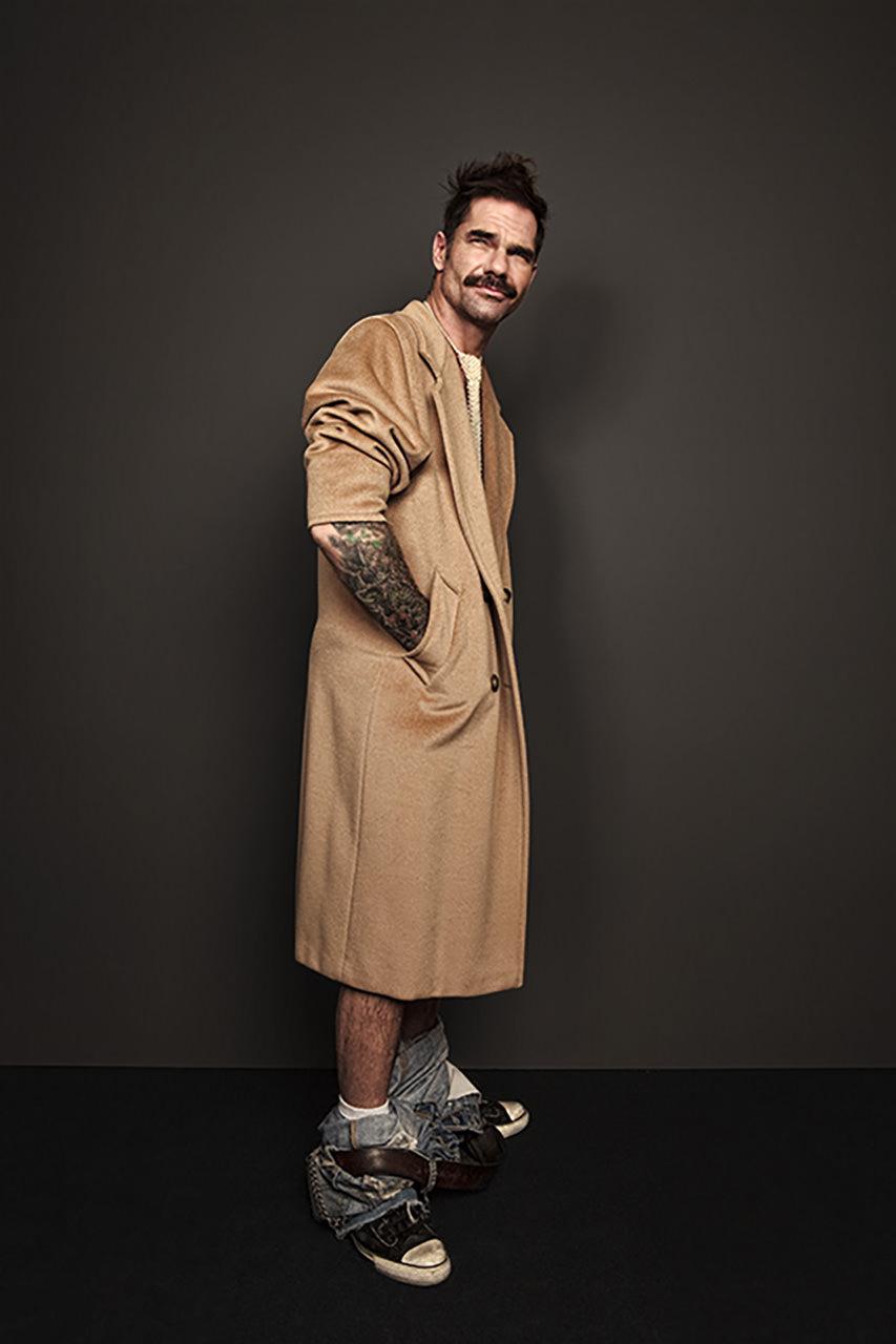 Fashion Portrait of top model Ryan Findlay