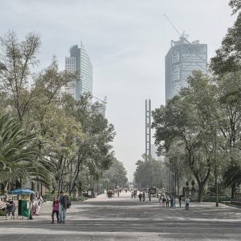 park of Chapultepec in Mexico City