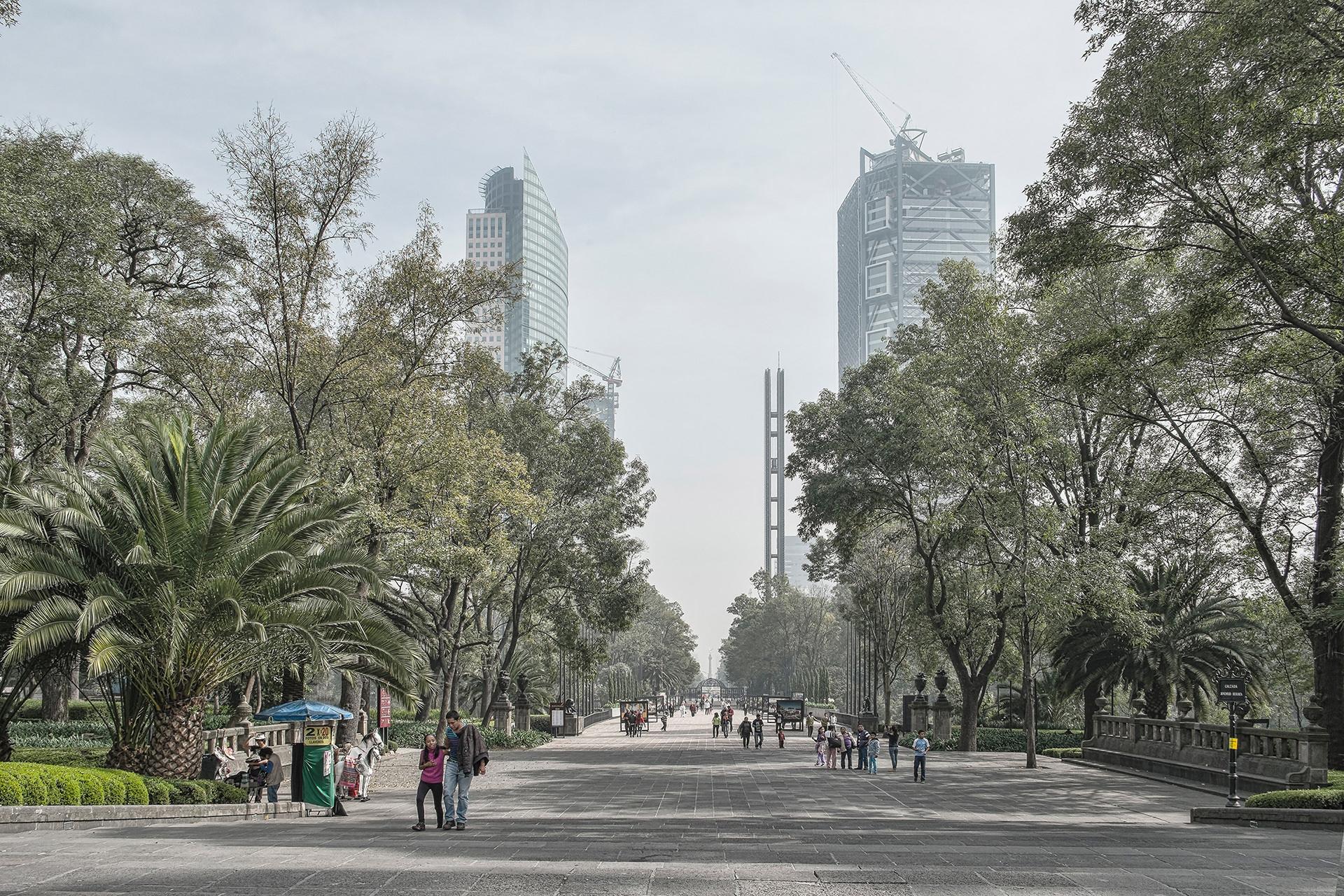 park of Chapultepec in Mexico City