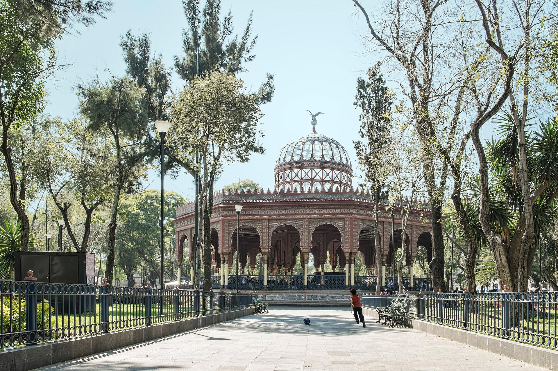Quiosco of Santa Maria of the Rivera in Mexico City