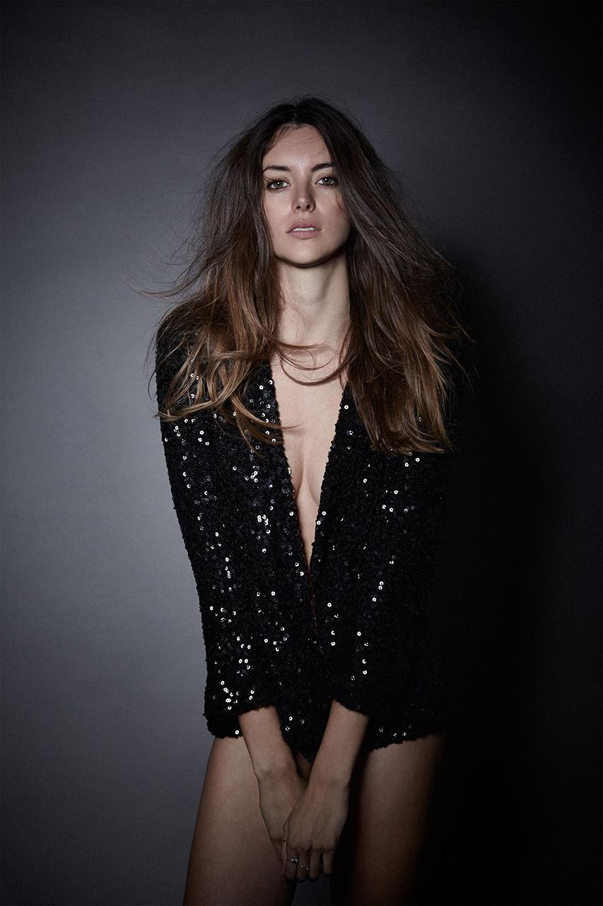 Test shoot for model Alejandra Welsh from Uniko Models