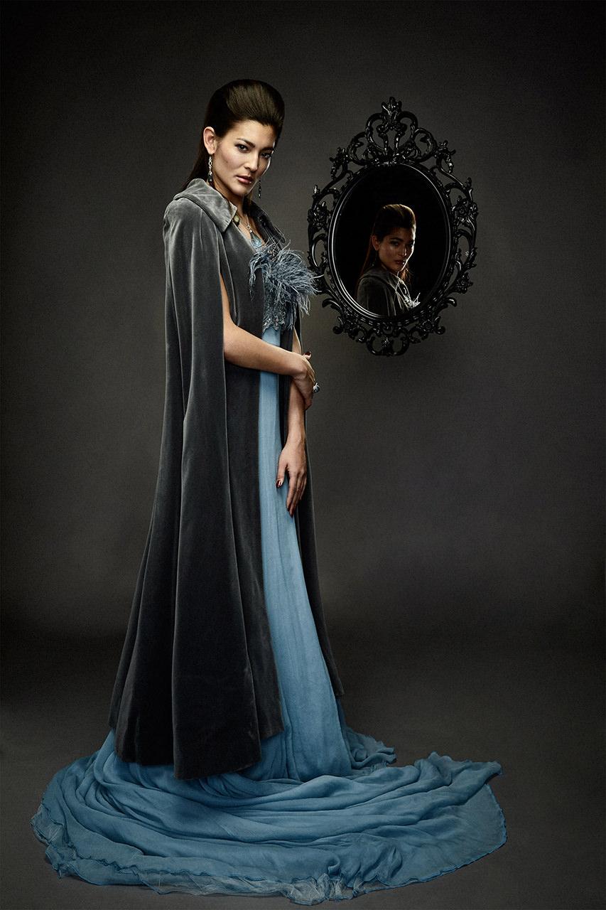 Editorial fashion shoot Snow White