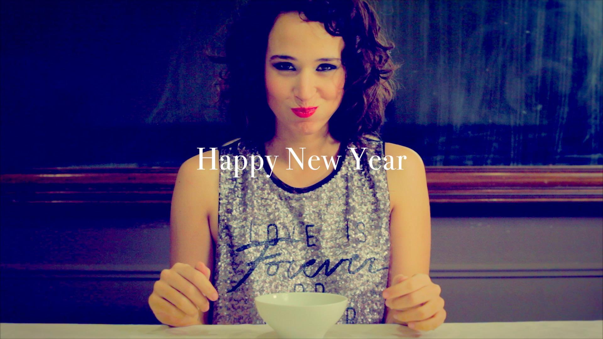 Fashion film to wish a Happy New Year