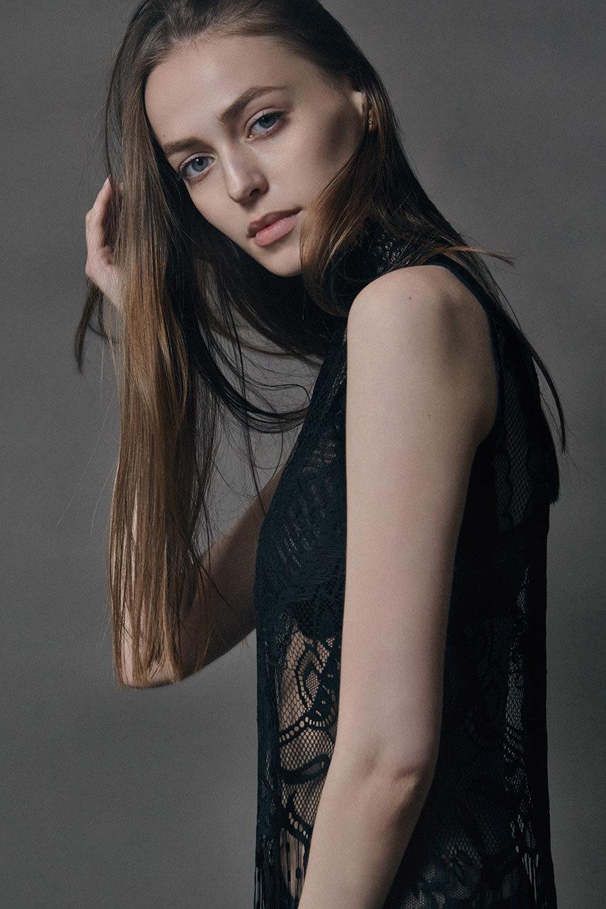 Fashion test shooting for Olga Pyatchenko