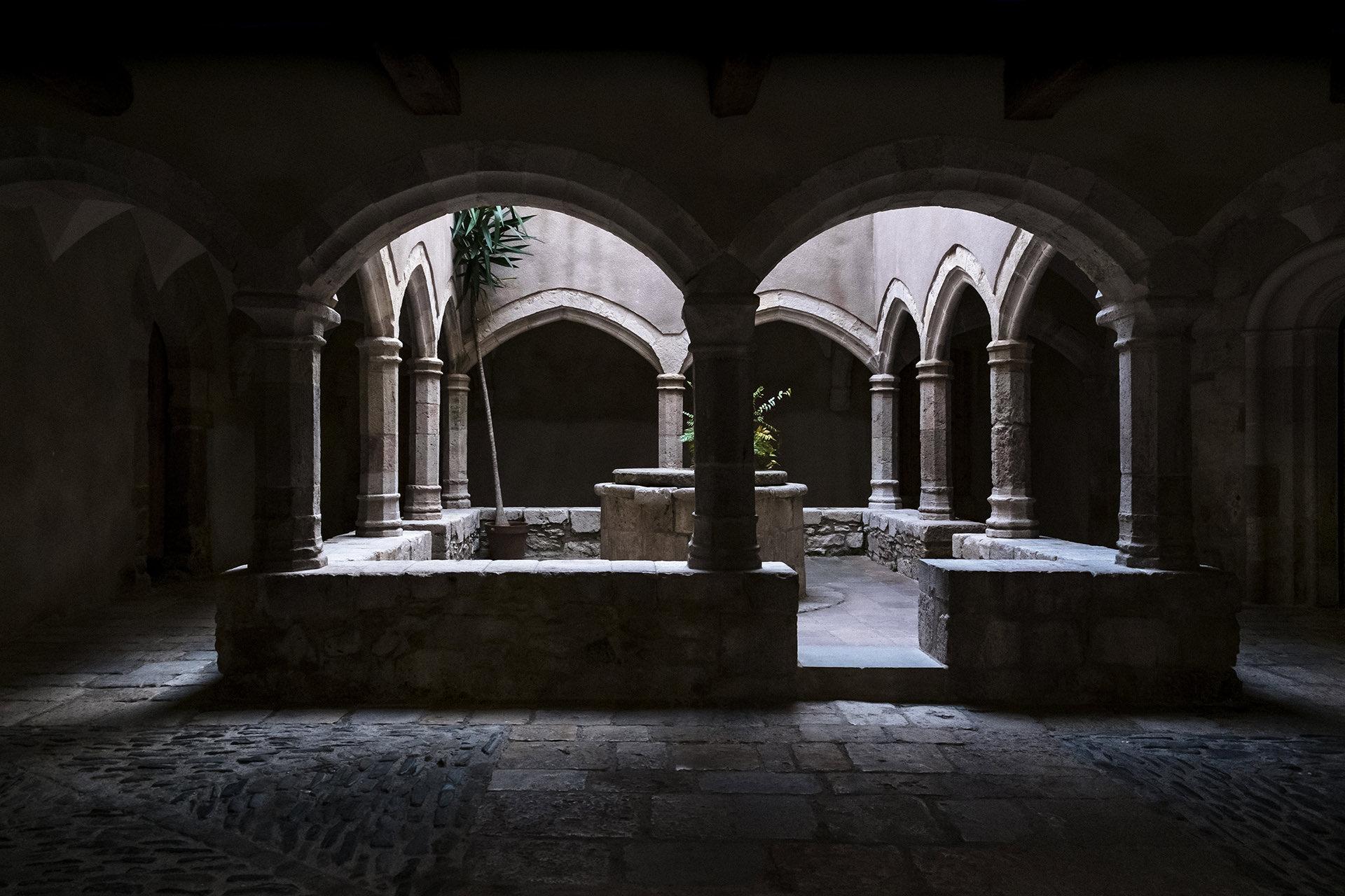 Cloister Santes Creus Tarragona