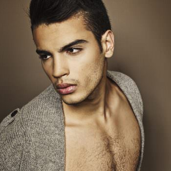 Hamza Lahboub for Ivy Mag by fashion photographer Marc Díez